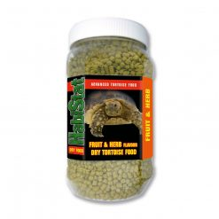 Habistat fruit and herb dry tortoise food 350g