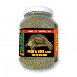 Habistat fruit and herb dry tortoise food