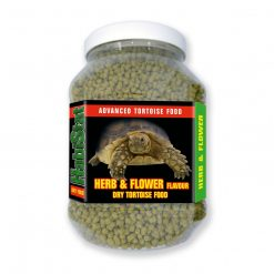 Habistat herb and flower dry tortoise food 700g