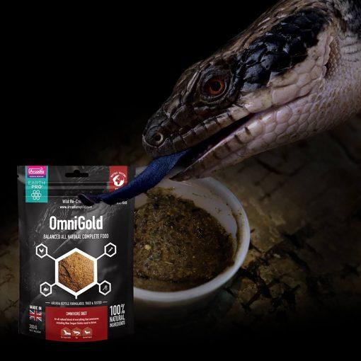 Arcadia Omni Gold 300g Blue Tongue Skink food
