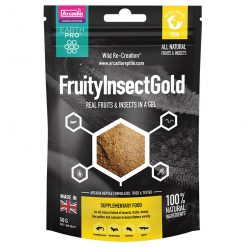 Arcadia EarthPro Fruityinsectgold Packet Front 50g