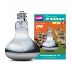 Arcadia 2nd Generation Mini D3 UV Basking Lamp, 80 Watts