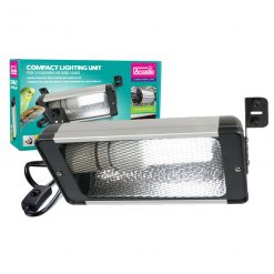Arcadia Compact Lighting Unit for mounting E27 compact lamps into vivariums and onto bird cages