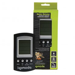 Komodo Combined Digital Thermometer And Hygrometer Reptile Vivarium Temperature and Humidity Guage