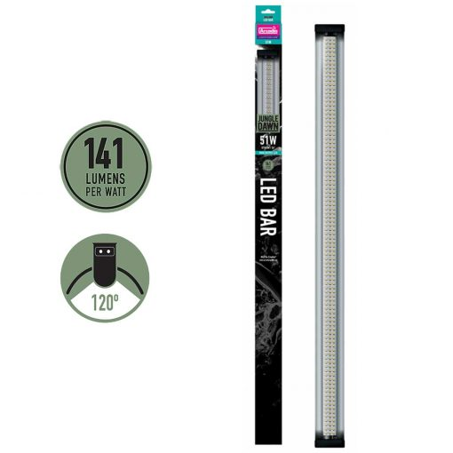 Arcadia Jungle Dawn 51 watts High Output full spectrum LED lighting Bar for plant growth and Arid species