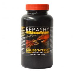 Repashy Superfoods Grubs 'N' Fruit 170g Pot for Crested Geckos, Gargoyle geckos and Blue Tonge Skinks