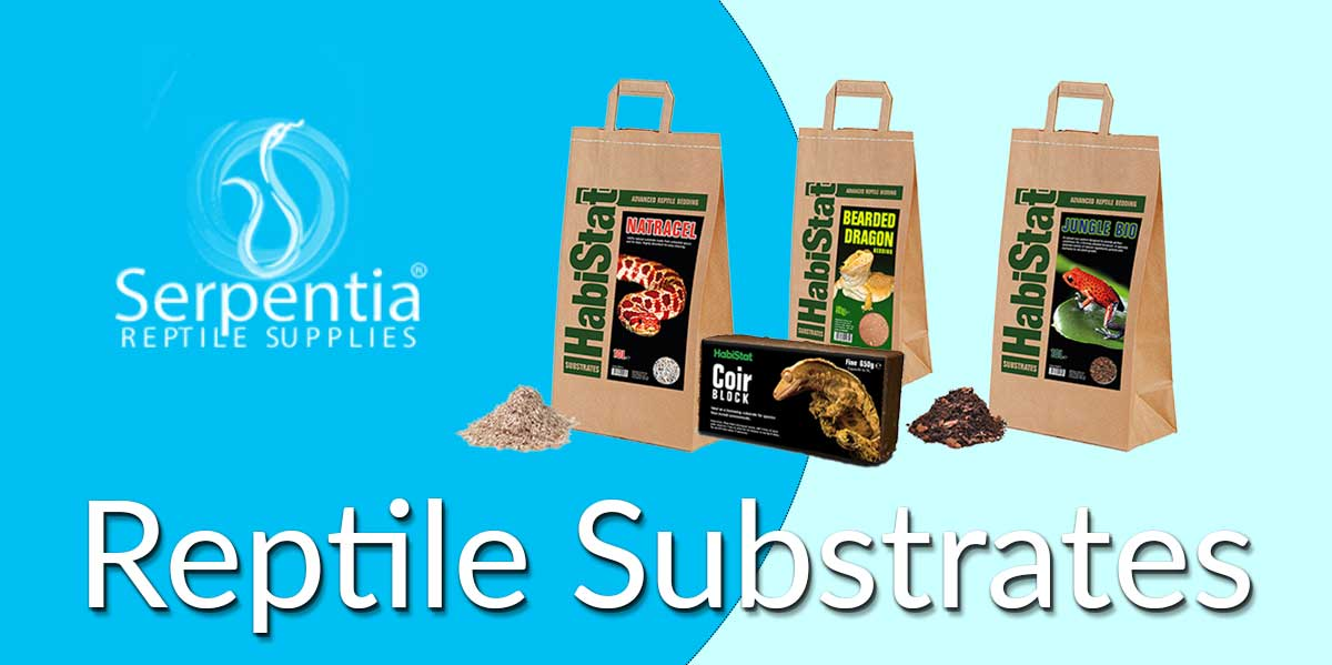 reptile substrates for snakes, tortoises, leopard geckos, bearded dragons ball pythons ad bio active enclosures