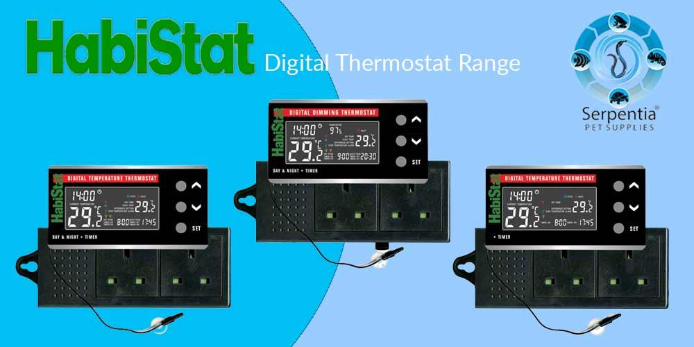 Habistat Digital Thermostat Range