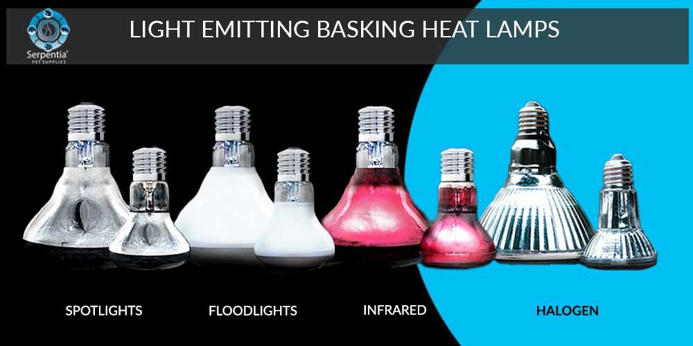 Light Emitting Basking Heat Lamps For Reptiles